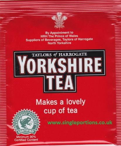 Yorkshire Tea Bags - single portion sachets online